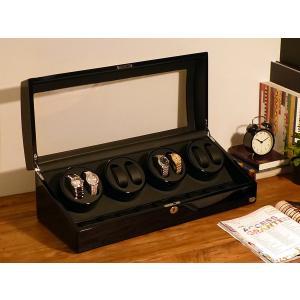 ABIES アビエス ワインディングマシーン 8本巻 ブラック×ブラック 1年保証 腕時計用ケース 収納|rmjapan|19
