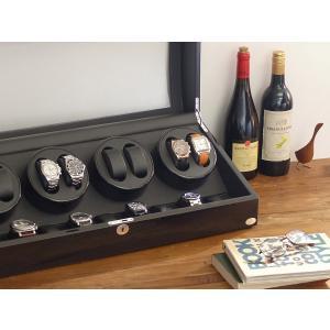 ABIES アビエス ワインディングマシーン 8本巻 ブラック×ブラック 1年保証 腕時計用ケース 収納|rmjapan|20