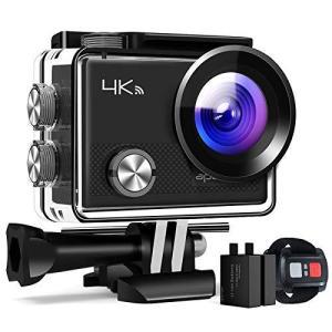 進化版APEMAN A77 アクションカメラ Webカメラ 4K高画質 2000万画素 リモコン付き...
