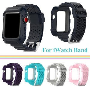 """対応機種:Apple watch series4 素材:PC・PET・PU・メタル  特徴: ●ケ..."