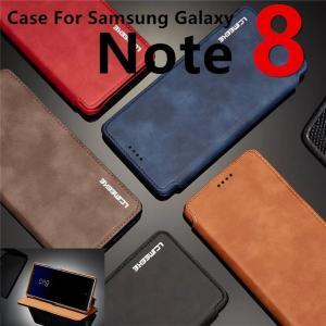 機種: GalaxyNote8(SCV37/SC-01K) ○素材:PU合皮&PC ○カラー:ブラッ...