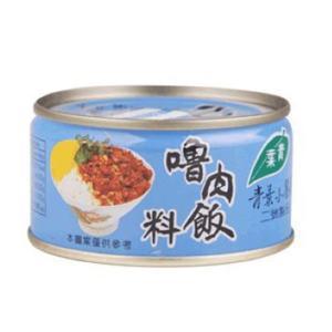 《青葉》 魯肉飯料(110g/缶)(煮込み豚肉そぼろ缶詰・ルーロウファン) 《台湾B級グルメ お土産》|rnet-servic