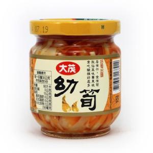 《大茂》 幼筍 170g (やわらか穂先メンマ スパイシー味−ベジタリアンOK)  《台湾B級グルメ お土産》|rnet-servic
