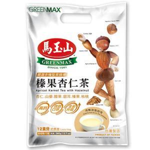 《馬玉山》榛果杏仁茶/(ヘーゼルナッツティー)(12包/袋) 《台湾 お土産》|rnet-servic