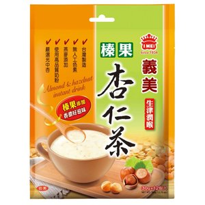 《義美》 榛果杏仁茶/(ヘーゼルナッツティー)(12包/袋) 《台湾 お土産》|rnet-servic