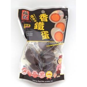 《福記》香鐵蛋(原味鶏蛋)(シャンティエダン・煮込玉子/6粒入)  《台湾 お土産》|rnet-servic
