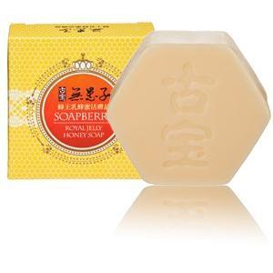 《古宝》 無患子(むくろじ)−蜂王乳蜂蜜活膚晶 100g (ローヤルゼリー蜂蜜ソープ・石鹸) 《台湾 お土産》|rnet-servic