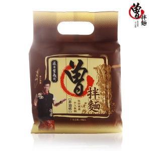 《過海製麺所》曾拌麺 香葱椒麻 116g (4袋 )(元祖台湾汁なしまぜそば・ネギ胡椒味) 《台湾B級グルメ お土産》