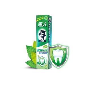 《黒人》雙重功效強化琺瑯質牙膏 200g入★台湾NO.1歯磨き粉★エナメル質強化Wダブル効果−タイプ 《台湾 お土産》|rnet-servic