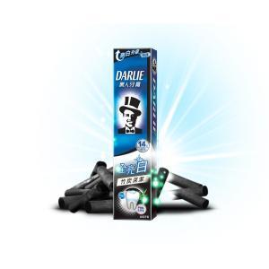 《黒人》全亮白竹炭深潔牙膏 140g入★台湾NO.1歯磨き粉★ホワイトニング竹炭・タイプ 《台湾 お土産》|rnet-servic