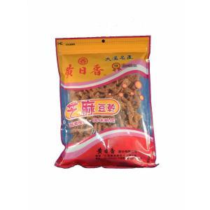 《黄日香》  大包 芝麻豆乾−ゴマ豆干-豆腐干(純素-ベジタリアン) 430G  《台湾 お土産》|rnet-servic