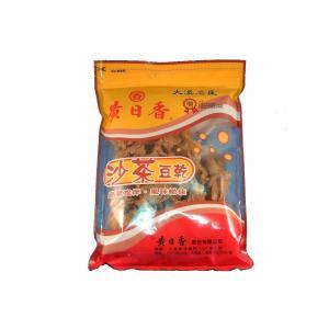《黄日香》  大包 沙茶豆乾−沙茶豆干-豆腐干(純素-ベジタリアン) 430G  《台湾 お土産》|rnet-servic