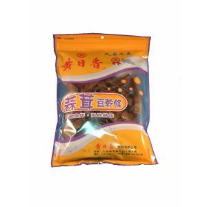《黄日香》  大包 蒜茸豆乾條−ガーリック豆干-豆腐干(純素-ベジタリアン) 430G  《台湾 お土産》|rnet-servic