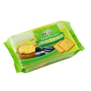 《健康日誌 》 海苔洋芋脆餅 192g(全素)(海苔ポテトクラッカー)  《台湾 お土産》|rnet-servic