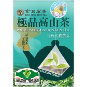 《金品茗茶》 極品高山茶 三角立體茶包(プレミアム高山茶 三角ティーバッグ)(4g×10袋) 《台湾 お土産》|rnet-servic