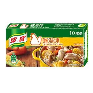 《康寶(台湾クノール)》鶏湯塊塊100g(10塊/盒)(旨味調味料−チキンスープ)  《台湾 お土産》|rnet-servic