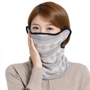 《UV100》《雪花保暖首圍+護耳口罩-贈濾片》スノーフラワー保温防寒フェイスマスク−《台湾 お土産》|rnet-servic