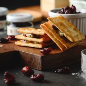 《LADYMAMA私房點心》 手工三明治Q餅(蔓越莓味) 12入 (手作りヌガークラッカーサンド−クランベリー味) 《台湾 お土産》|rnet-servic