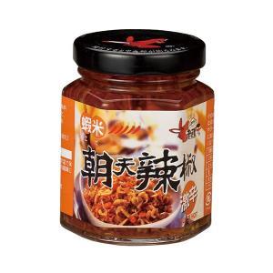 《老騾子》食べるラー油(激辛エビ味)蝦米朝天辣椒(240g/罐)   《台湾 お土産》|rnet-servic
