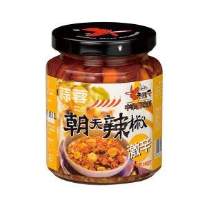 《老騾子》食べるラー油(激辛ガーリック)蒜蓉朝天辣椒(240g/瓶)   《台湾 お土産》|rnet-servic