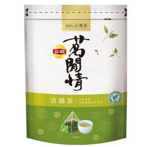 《立頓》 茗間情 活緑茶包(台湾リプトン−緑茶)(三角ティーバッグ-40入/包) 《台湾 お土産》|rnet-servic