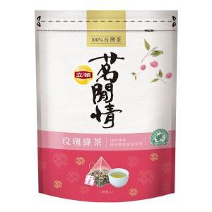 《立頓》 茗間情 玖瑰緑茶(台湾リプトン−ローズティー)(三角ティーバッグ-40入/包) 《台湾 お土産》|rnet-servic