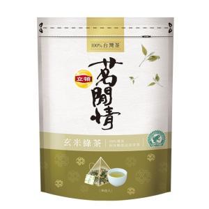 《立頓》 茗間情 玄米緑茶(台湾リプトン−玄米茶)(三角ティーバッグ-40入/包) 《台湾 お土産》|rnet-servic