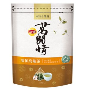 《立頓》 茗間情 凍頂烏龍茶(台湾リプトン−凍頂烏龍茶)(三角ティーバッグ-40入/包) 《台湾 お土産》|rnet-servic