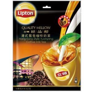 《立頓》 絶品醇港式鴛鴦珈琲乳茶(16入/袋)(台湾リプトン−香港スタイル・コーヒーミルクティー)《台湾 お土産》|rnet-servic