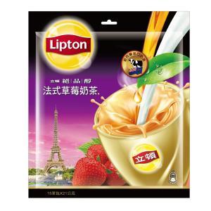 《立頓》絶品醇法式草莓乳茶(15入/袋)(フレンチイチゴミルクティー) 《台湾 お土産》|rnet-servic