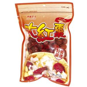 《耆盛》大紅棗(300g/袋)(薬膳・ナツメ) 《台湾 お土産》|rnet-servic