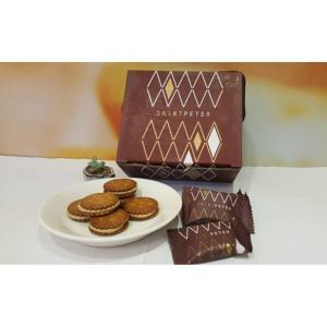 《聖比徳》珈琲黒糖牛軋餅-30入- 《台湾 お土産》|rnet-servic