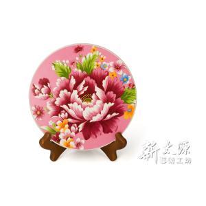 《新太源》(台湾花布柄)牡丹大熱塾 (牡丹ヒートパッド-桃色) 《台湾 お土産》|rnet-servic
