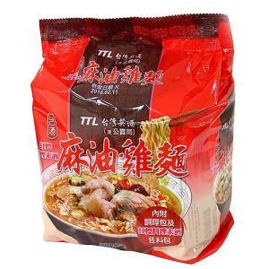 《台酒 TTL》 麻油鶏麺 200g×3袋(ごま油煮込鶏肉ラーメン) 《台湾B級グルメ お土産》|rnet-servic