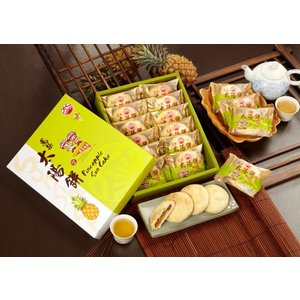 《太陽堂》 鳳梨太陽餅・12入(小太陽) (パイナップル味のタイヤンピン)  《台湾 お土産》|rnet-servic