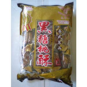 《義香珍》黒糖桃酥 430g(黒糖クッキー・ちんすこう) 《台湾 お土産》|rnet-servic