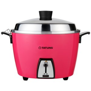 《TATUNG大同》電鍋★ステンレス万能電気炊飯器(6人用)★ピンク (TAC-06L-DI)★ 《...
