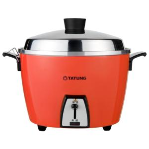 《TATUNG大同》電鍋★ステンレス万能電気炊飯器(6人用)★オレンジ (TAC-06L-DR)★ ...