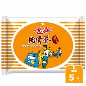 《統一》 肉骨茶風味  (93g×5袋 ) (豚骨風味・ラーメン) 《台湾B級グルメ お土産》|rnet-servic
