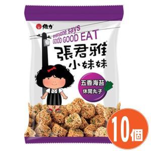 《維力》 張君雅小妹妹 五香海苔 80g(台湾のベビースターラーメン・スパイス海苔味) 80g ×10個 (▼150円値引)|rnet-servic