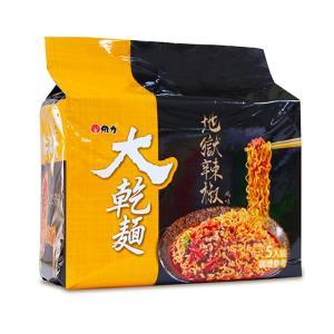 《維力》 大乾麺 地獄辣椒風味  (100g×5袋 ) (激辛口ソース焼そば) 《台湾B級グルメ お土産》|rnet-servic
