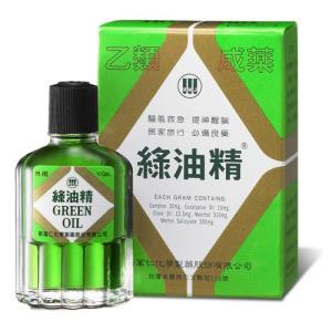 《新萬仁》台湾の万能グリーンオイル 緑油精 3g  《台湾 お土産》|rnet-servic
