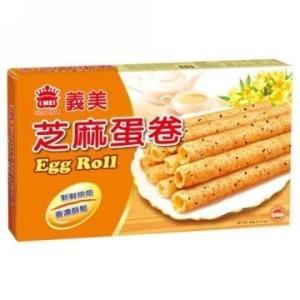 《義美》芝麻蛋捲(60g) 胡麻エッグロール《台湾  お土産》|rnet-servic