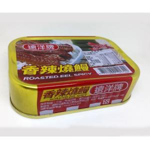 《遠洋》 香辣燒鰻(100g/缶)(鰻の蒲焼缶詰)×1個 《台湾B級グルメ お土産》|rnet-servic