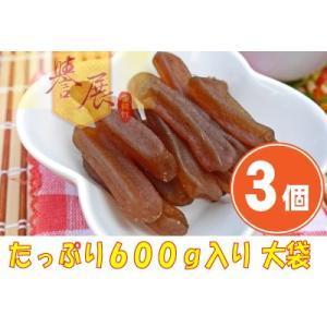 《譽展蜜餞行》五香蒟蒻條 大袋(600g)(スパイスコンニャクスティック) ×3個 《台湾 お土産》(▼1,000円値引) rnet-servic