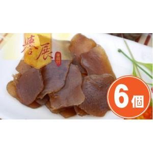 《譽展蜜餞行》五香蒟蒻片 小袋(170g)(スパイスコンニャクスライス)×6個 《台湾 お土産》(▼2,000円値引) rnet-servic