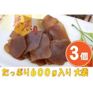 《譽展蜜餞行》五香蒟蒻片 大袋(600g)(スパイスコンニャクスライス)×3個 《台湾 お土産》(▼1,000円値引) rnet-servic