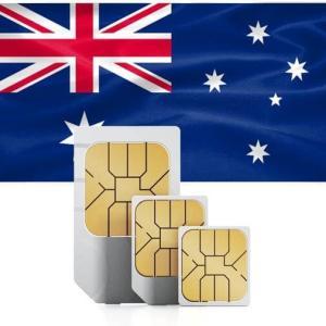 オーストラリアで使えるSIMカードです。オーストラリア大手通信会社の回線を使用するため、通信が安定で...