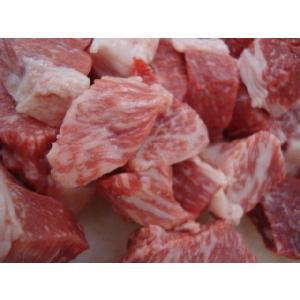 越後牛100% 煮込用角切り250g カレー・シチュー用
