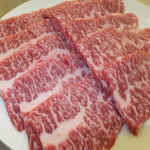 越後牛カルビ(ササミ)300g 焼肉・バーベキュー用